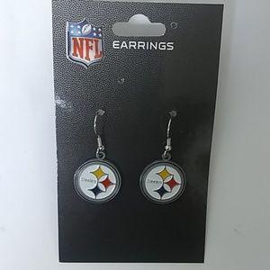 NFL Jewelry - NFL Pittsburgh Steelers Earrings